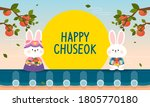 happy chuseok  korean...   Shutterstock .eps vector #1805770180