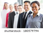 Group Of Modern Business Peopl...