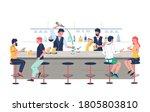 Pub Bartender Pouring Beer ...