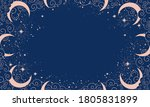 magical blue background with... | Shutterstock .eps vector #1805831899