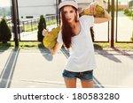 outdoor fashion closeup summer... | Shutterstock . vector #180583280