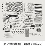 abstract contemporary trendy... | Shutterstock .eps vector #1805845120