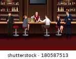 a vector illustration of... | Shutterstock .eps vector #180587513