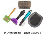 Set of different combs and...