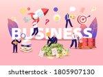 business concept. businessmen...   Shutterstock .eps vector #1805907130