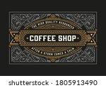 vintage vintage logo for... | Shutterstock .eps vector #1805913490