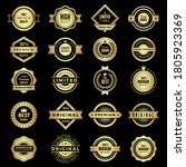 badges collection. premium... | Shutterstock .eps vector #1805923369