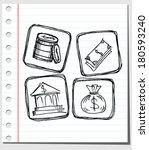 u.s. dollar sign | Shutterstock .eps vector #180593240