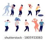 mental disorder. mind illness ... | Shutterstock .eps vector #1805933083