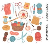 Knitting Threads. Knit Sewing ...