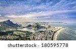 Aerial Panorama Of Rio De...