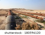 Oil And Gas Pipeline In The...