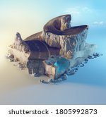 Travel And Vacation Background. ...