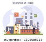 chemical industry concept.... | Shutterstock .eps vector #1806005116