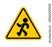 attention stroll. warning...   Shutterstock .eps vector #1806020503