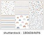 set of hand drawn vector... | Shutterstock .eps vector #1806064696