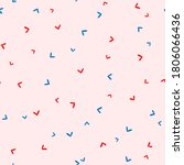 cute seamless pattern with... | Shutterstock .eps vector #1806066436