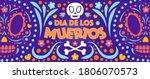 Dia De Los Muertos Banner...
