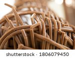 Old Wicker Plastic Chair...