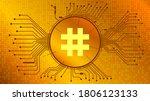 reserve rights token rsr... | Shutterstock .eps vector #1806123133