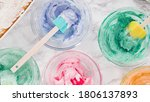 Mixing Food Coloring Into...