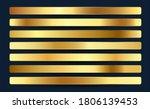 premium royal golden gradients... | Shutterstock .eps vector #1806139453