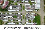 aerial drone. real estate view | Shutterstock . vector #1806187090