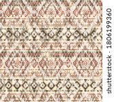 native american style fabric...   Shutterstock .eps vector #1806199360