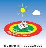 karen the business woman is...   Shutterstock .eps vector #1806235903