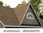 Roof Covered Asphalt Shingles...