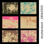 grunge backgrounds | Shutterstock .eps vector #18063505
