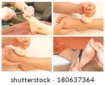 Collection Of Reflexology Foot...