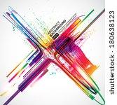 abstract background vector | Shutterstock .eps vector #180638123