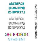font | Shutterstock .eps vector #180639893