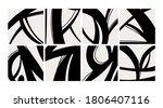 trendy backgrounds  patterns.... | Shutterstock .eps vector #1806407116