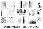 overlay texture set. different... | Shutterstock .eps vector #1806449950