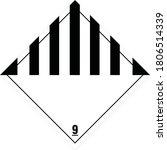 ghs pictogram class 9 vector   Shutterstock .eps vector #1806514339