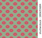 sexy lips seamless pattern