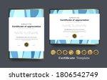 certificate of appreciation...   Shutterstock .eps vector #1806542749