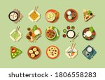 asian traditional cuisine and...   Shutterstock .eps vector #1806558283