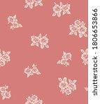 japanese hibiscus vector...   Shutterstock .eps vector #1806653866
