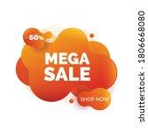 modern abstract background mega ...   Shutterstock .eps vector #1806668080
