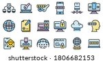 multi factor authentication...   Shutterstock .eps vector #1806682153