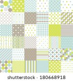 seamless patterns   digital... | Shutterstock .eps vector #180668918