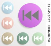 previous music badge color set. ...