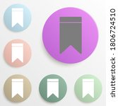 bookmark badge color set....