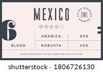 minimal label. typographic... | Shutterstock . vector #1806726130