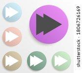 fast forward badge color set....