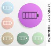 charge symbol badge color set....