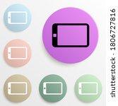 the tablet badge color set....